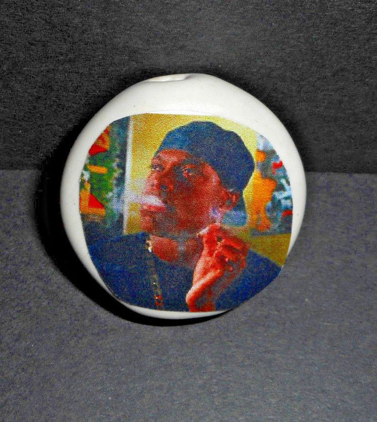 """Smokey from Friday  ceramic smoking """" toke"""" stone handmade original artwork"""