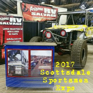 ARIZONA RV SALVAGE 🎣 Scottsdale AZ | March 23-26, 2017 | International Sportsmen's Exposition & Arizona Boat Show #sportsmensexpo2017 #sportsmensexpo #azrvsalvage #azrv #rvlife #offroad #expo #salvage #az #westworld #scottsdale