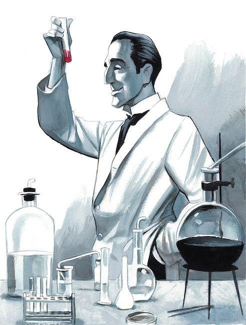 "Sherlock Holmes ""A Study in Scarlet"" A. Conan Doyle by Fernando Vicente"