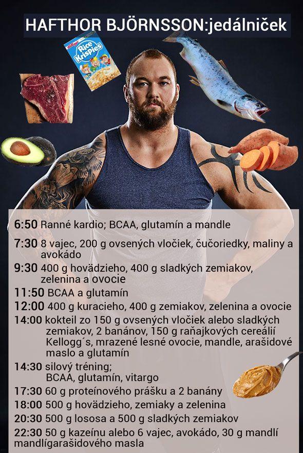 Hafthor Bjornsson - jedálniček a tréning pred Arnold Strongman 2017