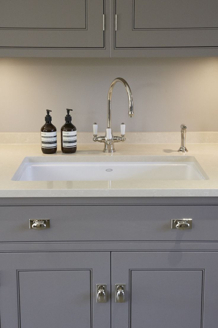 Perrin & Rowe Taps - Humphrey Munson kitchen - Luxury Bespoke Kitchen - Harpenden - Humphrey Munson
