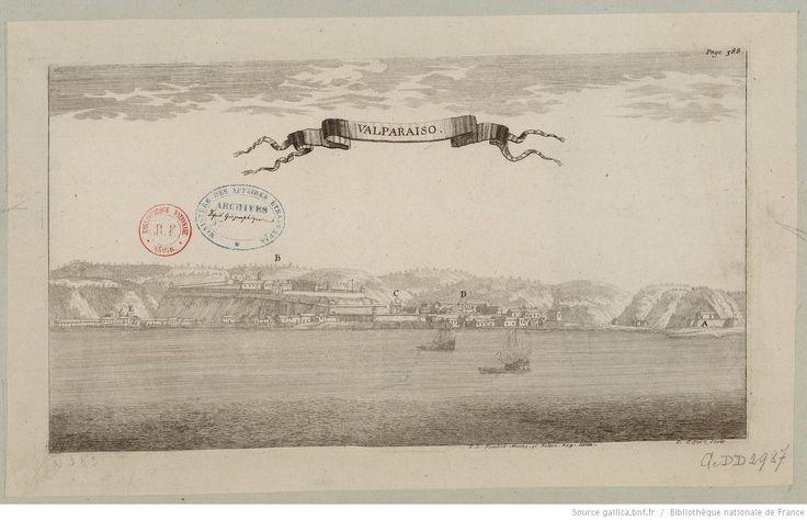 Valparaiso / P.L. Feuillée Mathem. et bot. Reg. del.