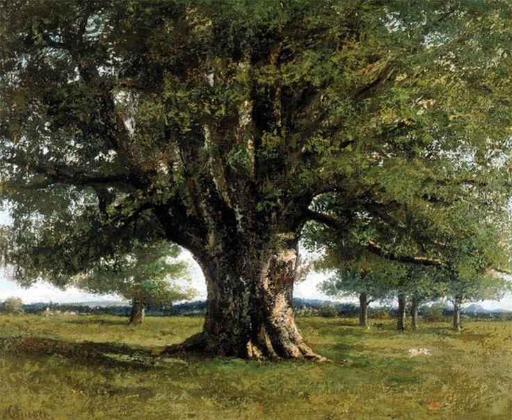 """""""La quercia di Flagey"""" di Gustave Courbet"""
