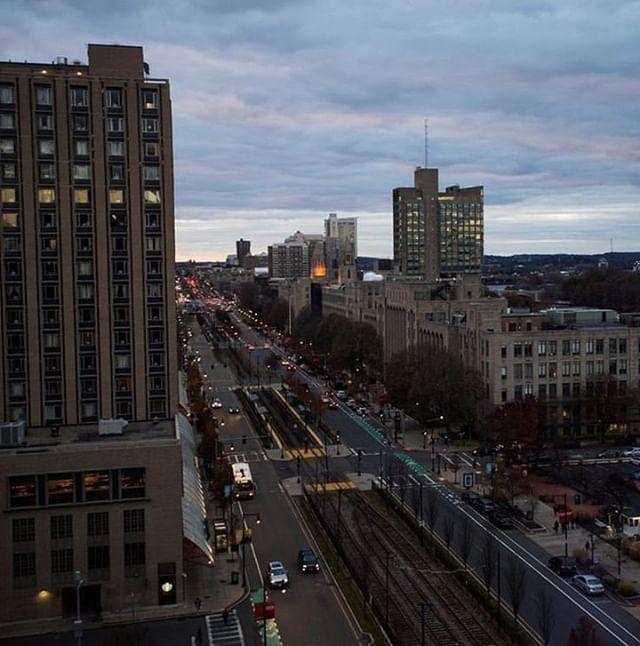 Another Sunset On Comm Ave Emilytruax Boston University Views Campus