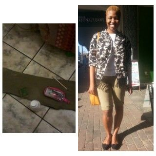 From a boring trouser to a cool short