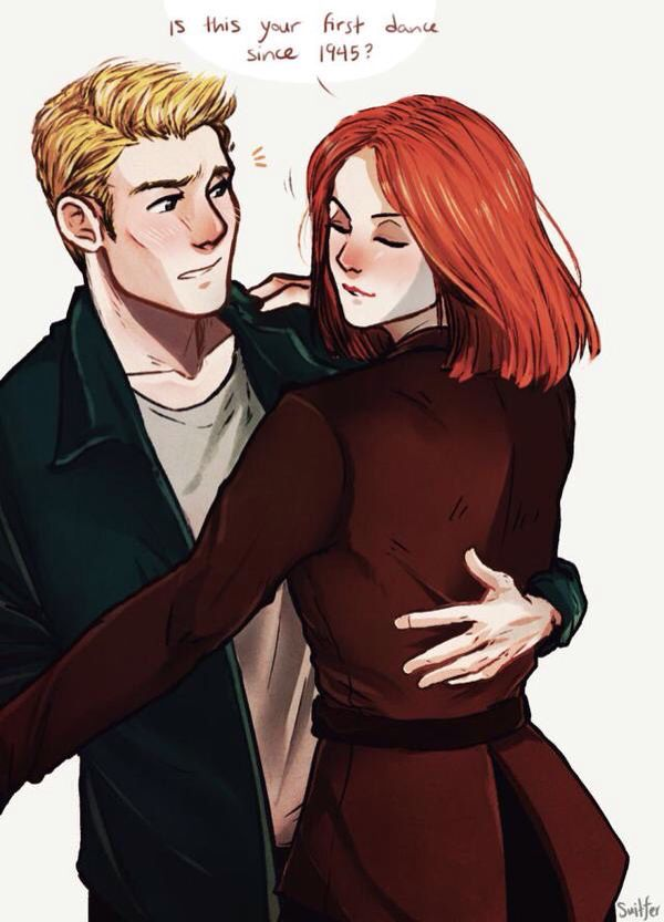 Romanogers/Steve and Natasha