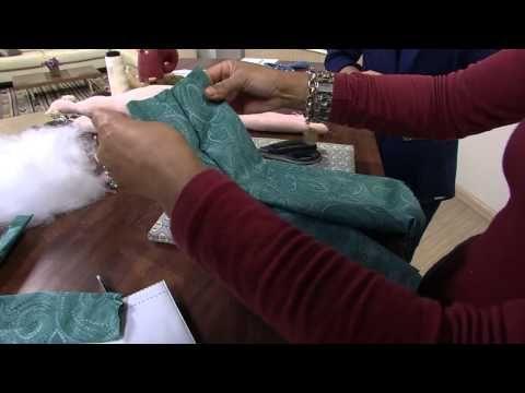 Comment réaliser une poupée Tilda? - YouTube