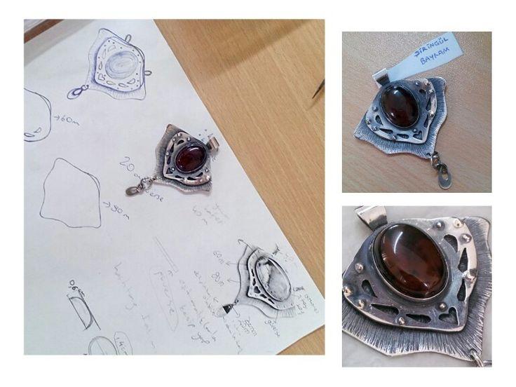 #silver #necklace #akik #kolye #jewelry #takı