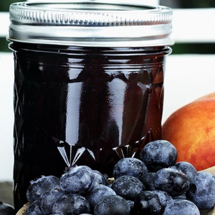 This blueberry jam recipe will make about 3 pints of jam.  This tasty homemade treat can be enjoyed at breakfast time or used with some special desserts.. Blueberry Jam Recipe from Grandmothers Kitchen.