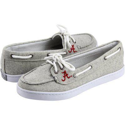 Alabama Crimson Tide Ladies Kauai Boat Shoes