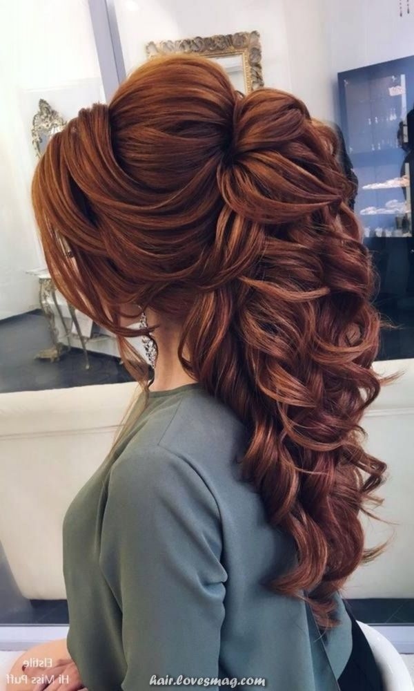 Beautiful Lovely Hairstyles For Lengthy Hair Your Wedding Ceremony Gown Apparel In 2020 Hair Styles Prom Hairstyles For Long Hair Wedding Hairstyles For Long Hair