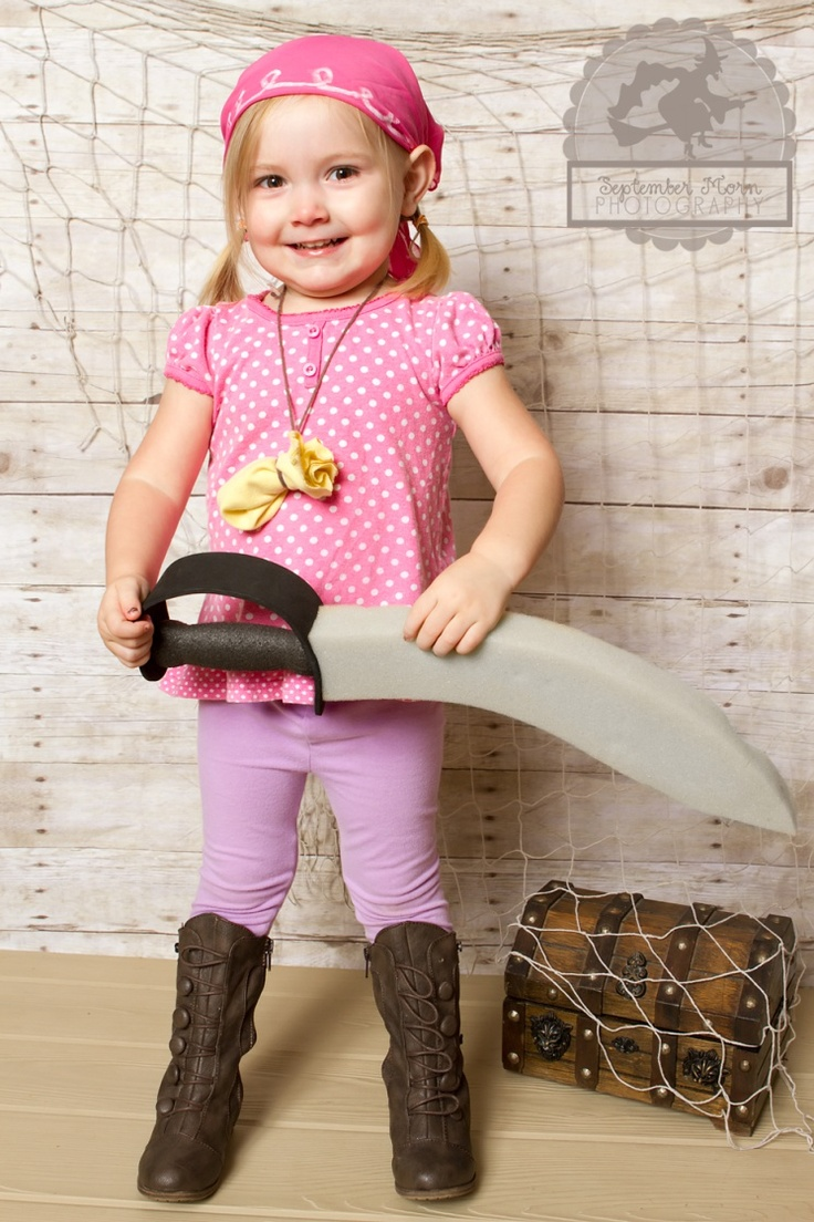 Cheap And Easy Izzy The Pirate Costume Baby Costumes Halloween Fun Dress Up Costumes