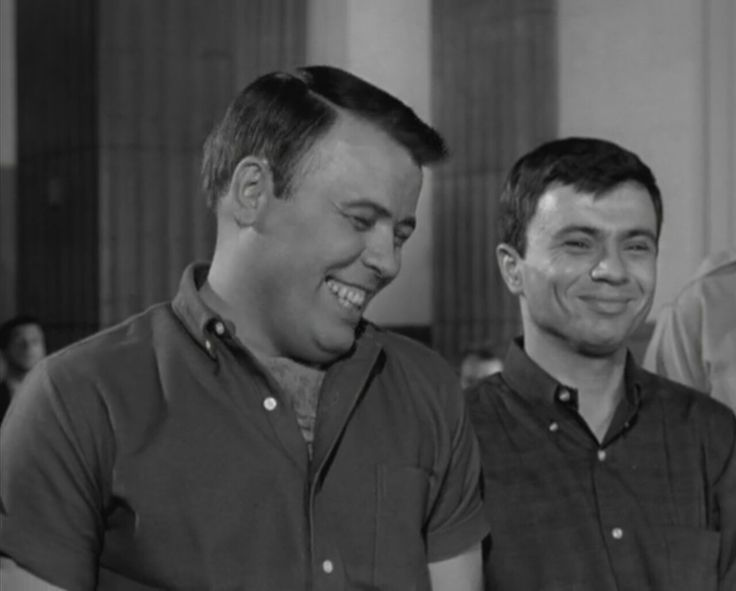 Frank Sutton and Robert Blake