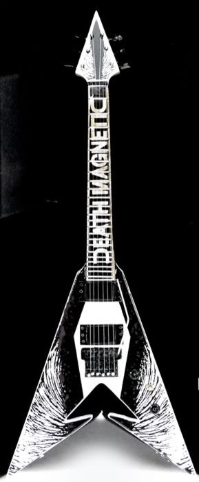 Metallica Death Magnetic Guitar