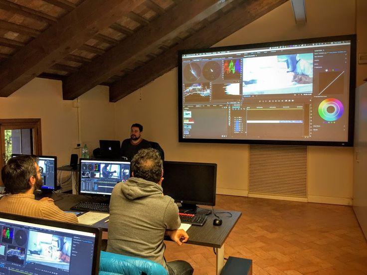 Corso in #ColorCorrection con Victor Perez in #ViFX #PostProduzione #PostProduction #VFX
