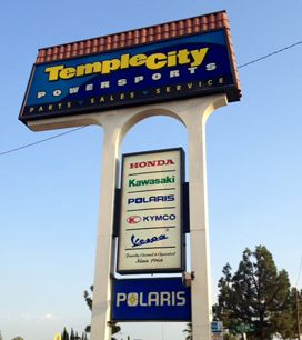 Temple City Powersports is a full service dealer for Honda Motorcycles, Honda Scooters, Honda Generators, Kawasaki Motorcycles, Kawasaki ATVs, Kawasaki UTVs (side by side), Kawasaki Jet Skis, Kymco Scooters, Aprilia Motorcycles, Aprilia Scooters, Piaggio Scooters, Vespa Scooters and Polaris ATVs and UTVs between the HWY 10 and HWY 210 on Rosemead Blvd, in San Gabriel, CA. We stock new and used motorcycles, ATVs, scooters, utility vehicles, UTVs, dirt bikes, PWCs and more. We have one of the…