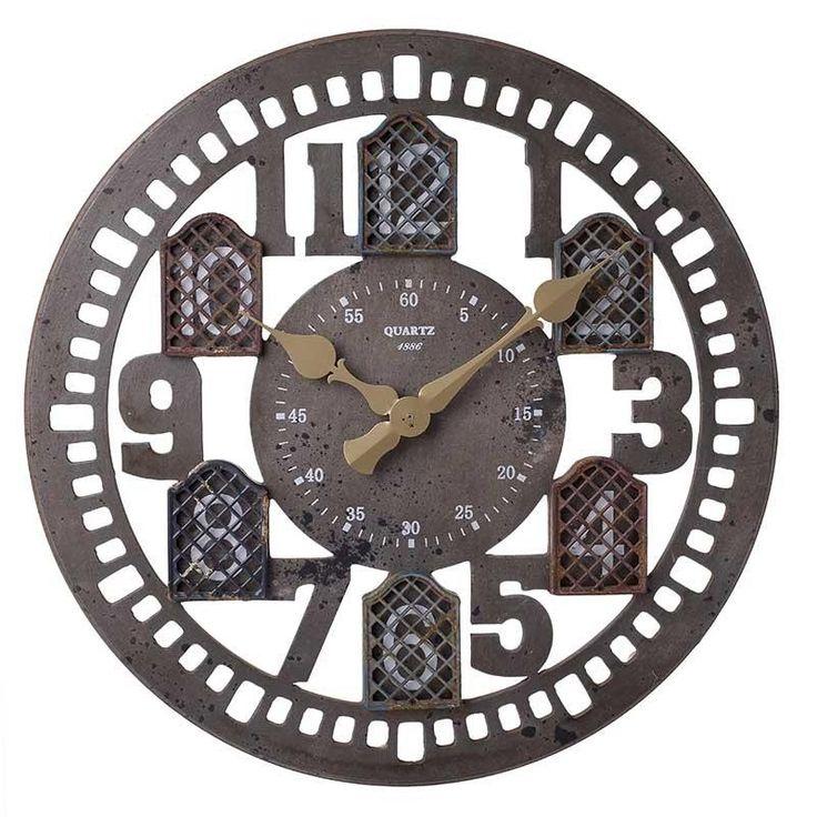 Ρολόι Τοίχου Λαδί INART 60εκ http://www.lovedeco.gr/p.Roloi-Toichou-Ladi-INART-60ek.910221.html