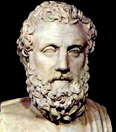 The great Greek dramatist Aeschylus