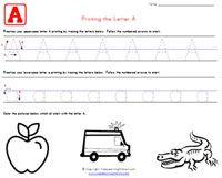Traceable Alphabet Worksheets | Kids Learning Station