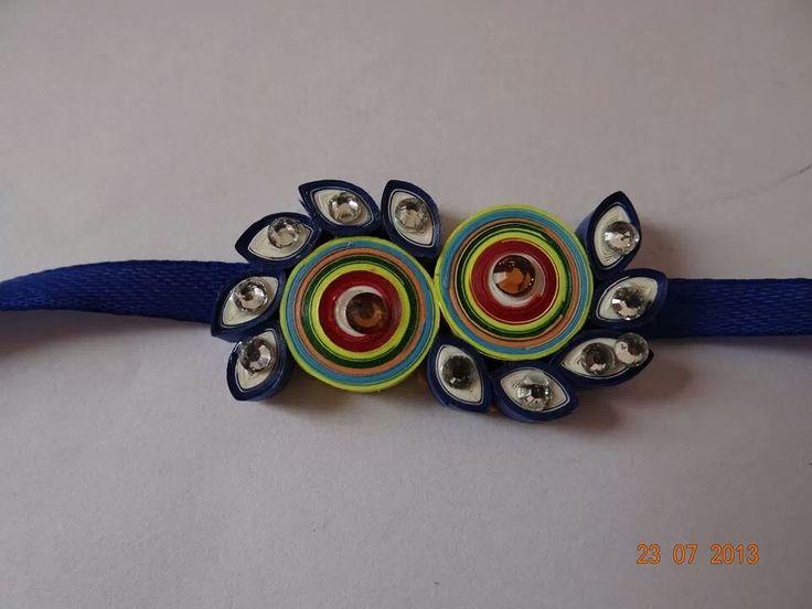 By Shweta Quilling JewelryPaper QuillingQuilling Earrings RakhiHandmade RakhiRakhi MakingQuilling DesignsDiy Craft Projects