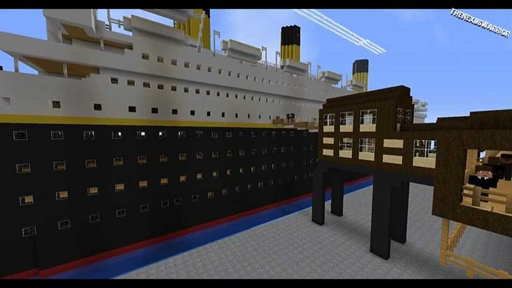Minecraft | The story of the Titanic