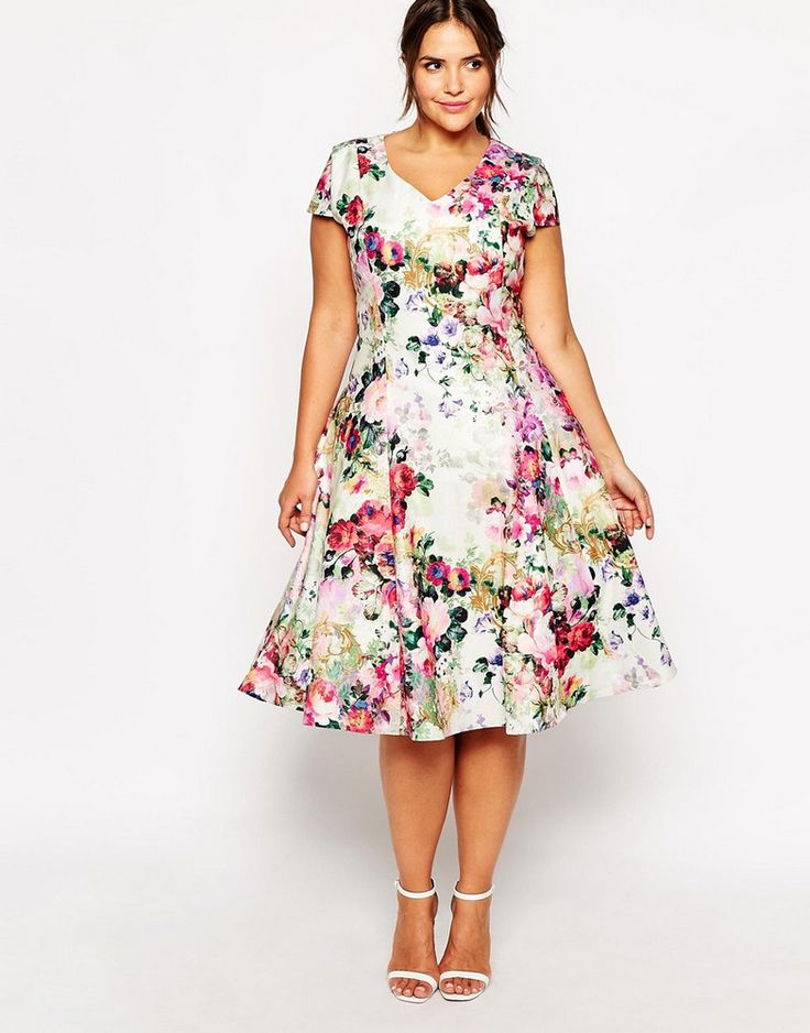 20 Plus Size Floral Dresses That Scream Spring Clothes I Wish I