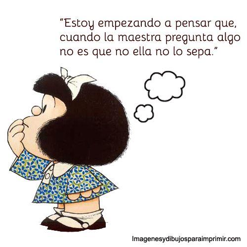 Mafalda educación I