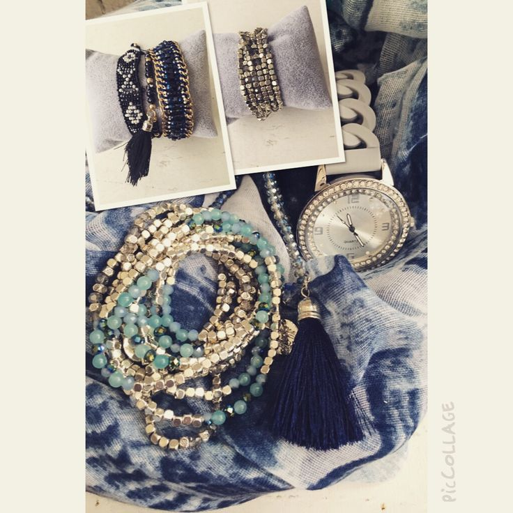 Blue outfit, just love it www.ellja.no