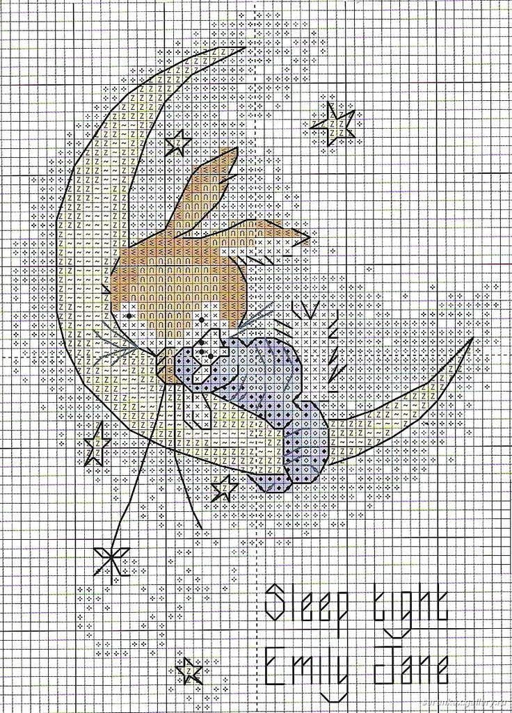 coniglietto su luna