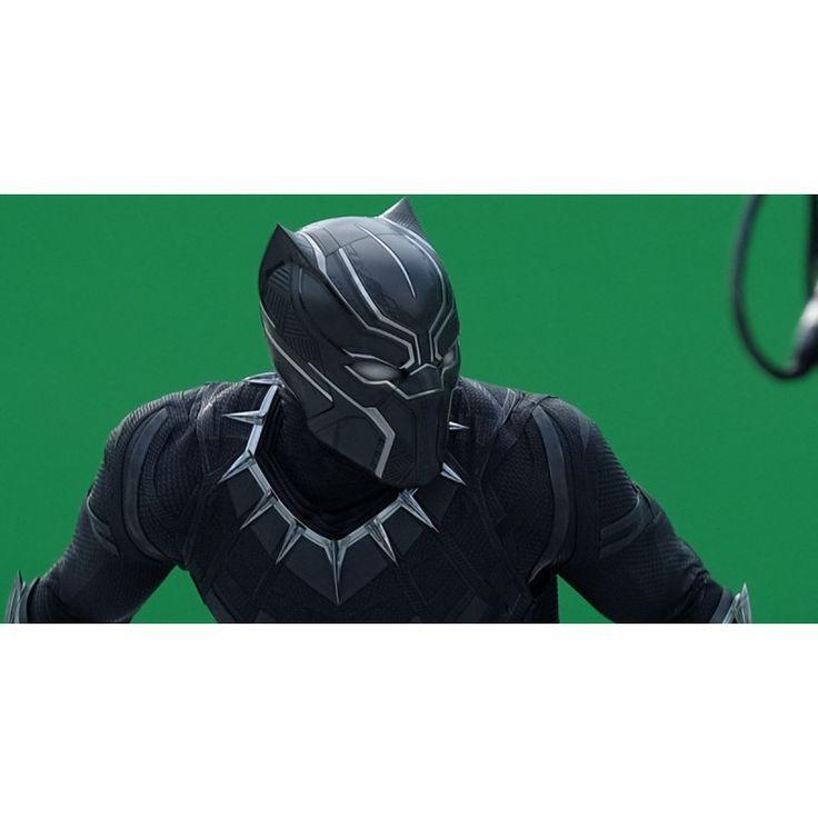 Captain America Civil War Black Panther Chadwick Boseman Leather Jacket
