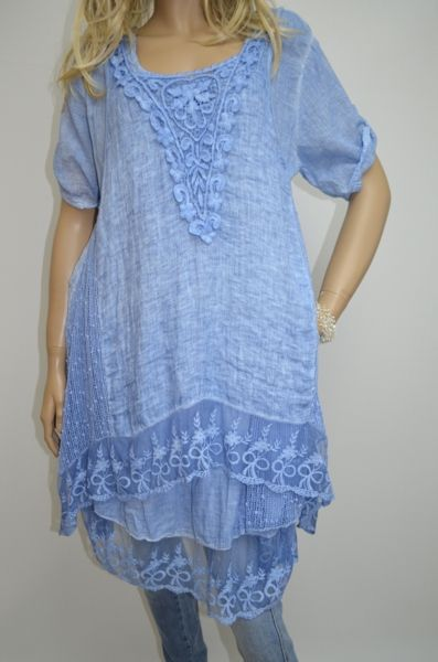 pretty in blue, also in pink and beige $195