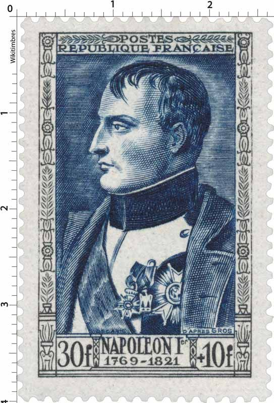 Timbre 1951 : NAPOLÉON 1er 1769-1821 | WikiTimbres
