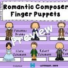 Bring the music of these Romantic Period composers to life for your students with these cute finger puppets as they learn about the composer and hi...