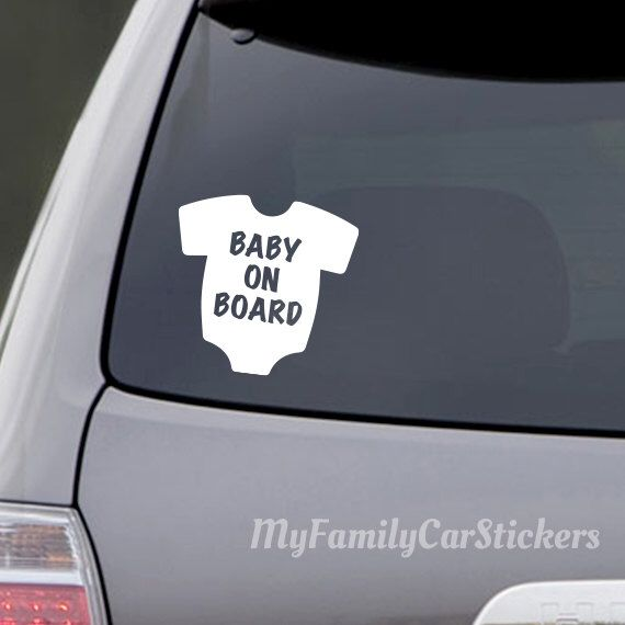 Baby on board car decal vinyl car decal baby car decal car vinyl decal car window