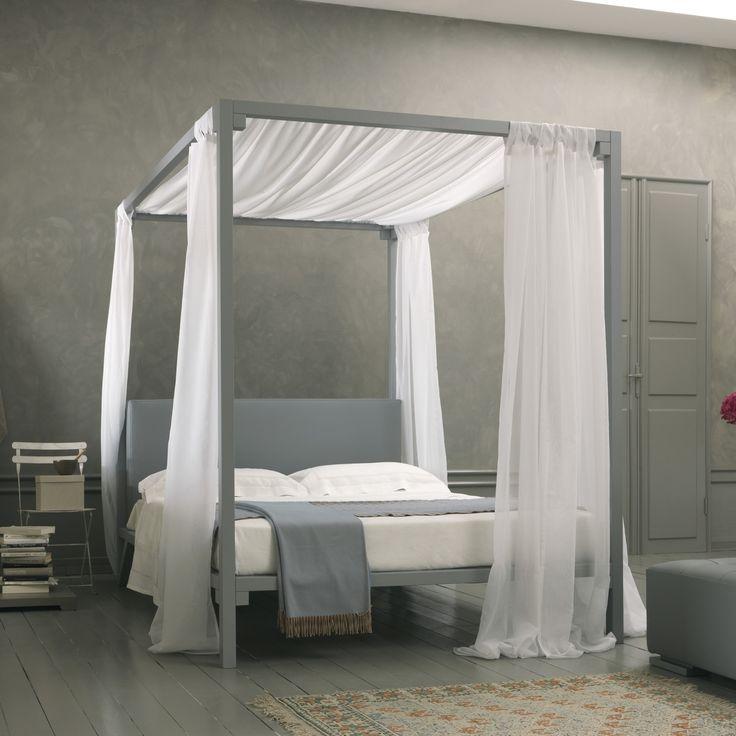 Oltre 25 fantastiche idee su letti a baldacchino su pinterest letto a baldacchino per - Struttura per letto a baldacchino ...