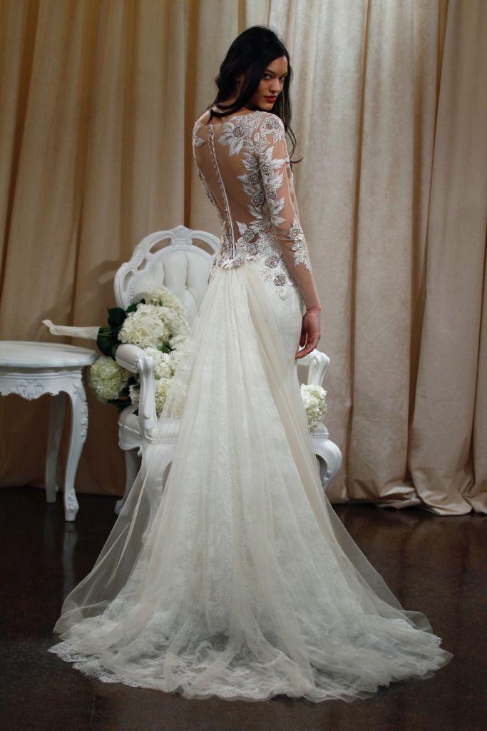 Elegant Badgley Mischka Bridal Spring Presentation