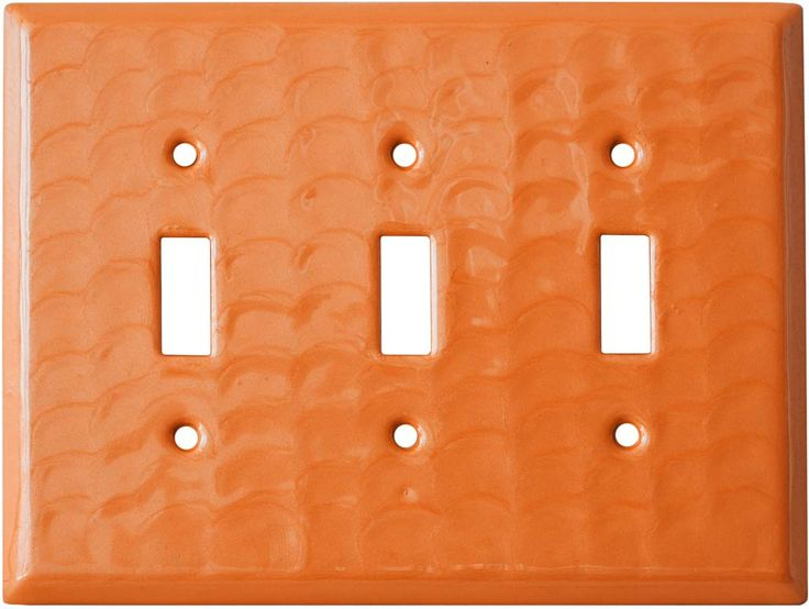 Orange Motion Light Switch Plates, Outlet Covers, Wallplates
