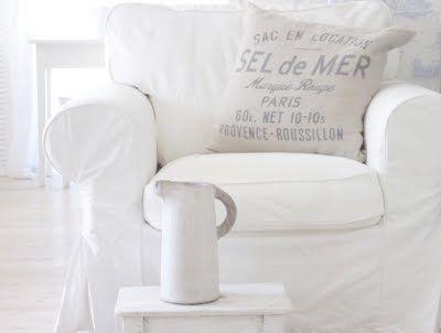 white: Colour, White Chairs, Beach House, White Slipcovers, Shabby Chic, White, White House