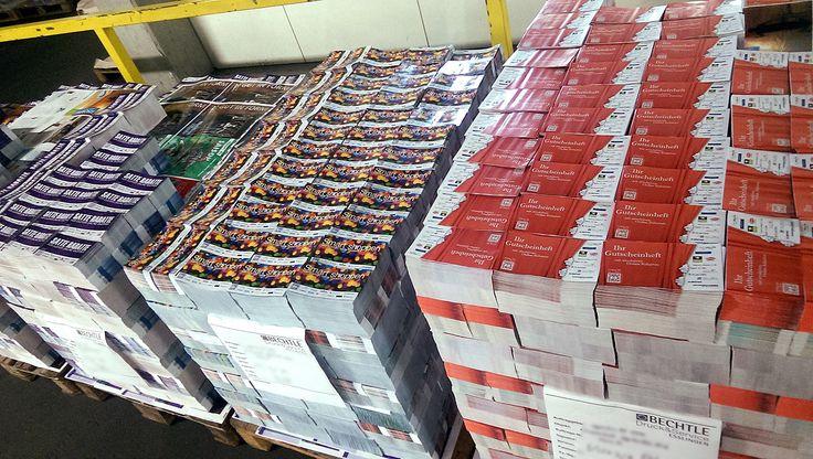Couponhefte gedruckt bei www.dierotationsdrucker.de