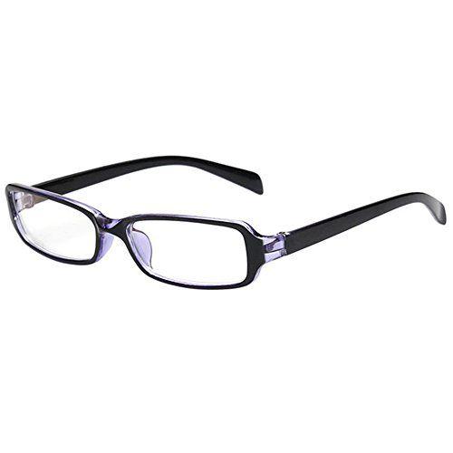 FancyG Vintage Inspired Classic Retro Style Rectangle Sha... amazon.com (I prefer with blue tint precription glasses)
