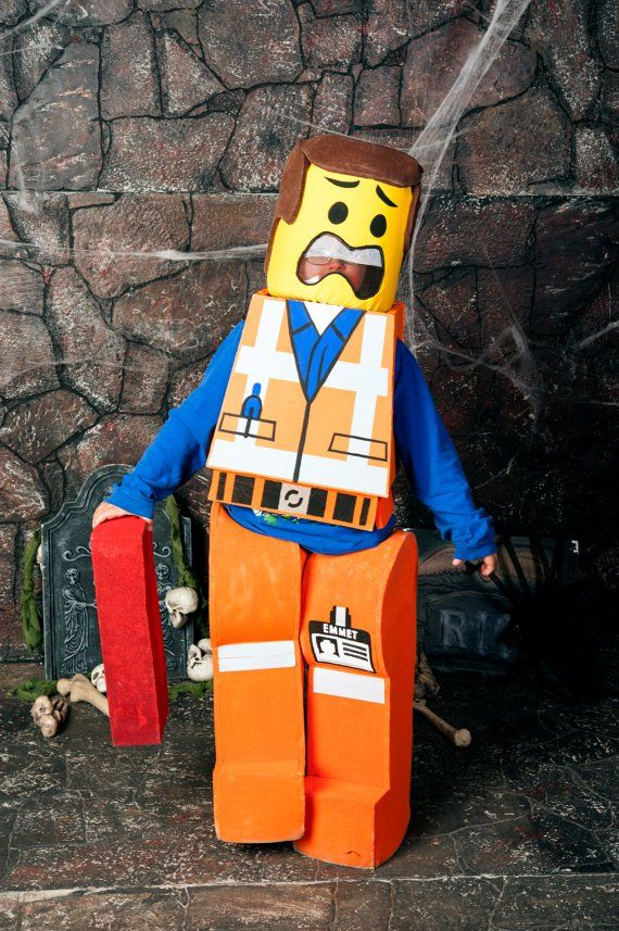 Pin for Later: The Best Cartoon Character Costumes Around! Emmet of The Lego Movie Everything is awesome when your tot dresses like a Lego character ($300).