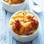 Peach Bread Pudding Recipe | MyRecipes.com