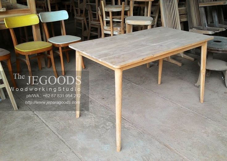 Fine Furniture for Sale, Minimalist Contemporary and Retro Style. Primarily from solid teakwood, but also enable to work with many other selected woods such as; mahogany, mindi wood and another lo…