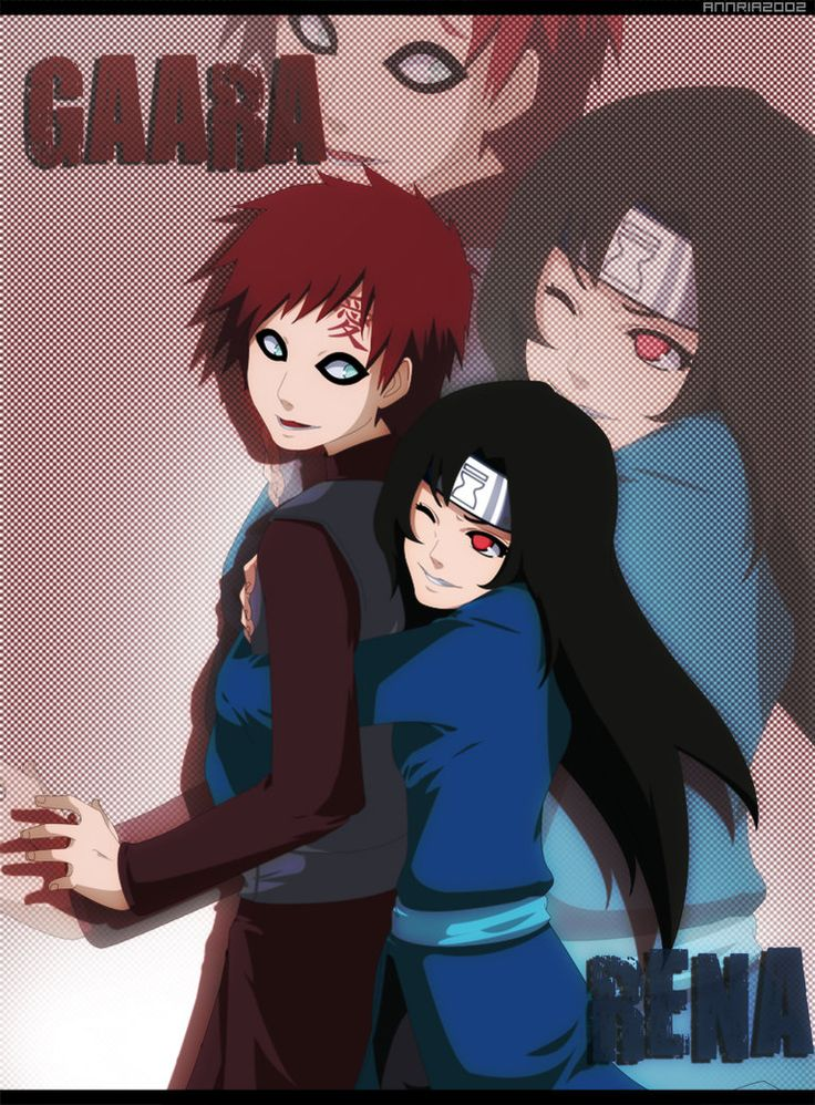 """Gaara and Inari. ( Inari: Wait! I-It's not w-what-"""" ______ Gaara: """"They're stupid. Just let them ..."""