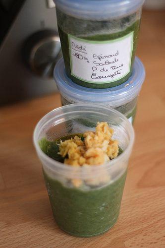 Ptit pot épinard & salade (dès 6 mois)