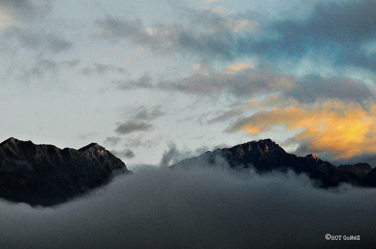Morning Alps.