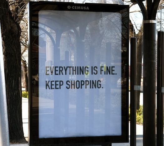 MaSATAdvertising Campaign, Retail Therapy, Quotes, Self Awareness, Advertis Campaigns, Shops, Keep Calm, Fine, Bus Stop