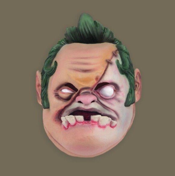 Dota 2 de ação figura máscara máscara de horror máscara de silicone PUDGE Dota 2 cosplay máscara de Halloween máscara de pré venda