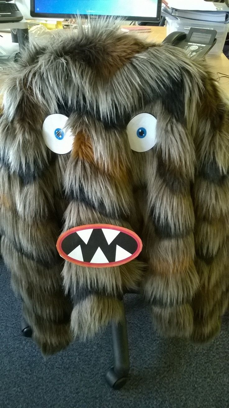 Monster about! We're not childish here at APS...