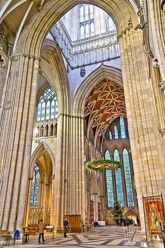 York Minster Interior - York, England, my favorite cathedral in the UK.